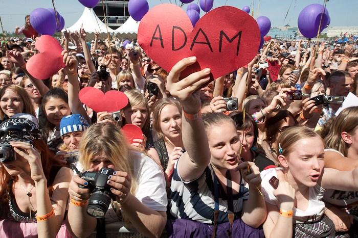 Fans at the show - Photo Via Maximum.ru