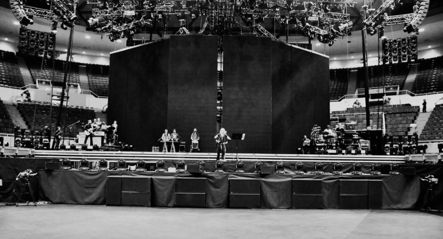 05-26-12 Madonna MDNA Tour Rehearsals - First day in production rehearsals