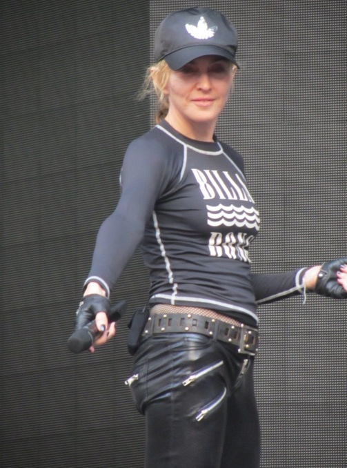Soundcheck – Photo credit Ultimate Concert Experience - MDNA Tour Milan