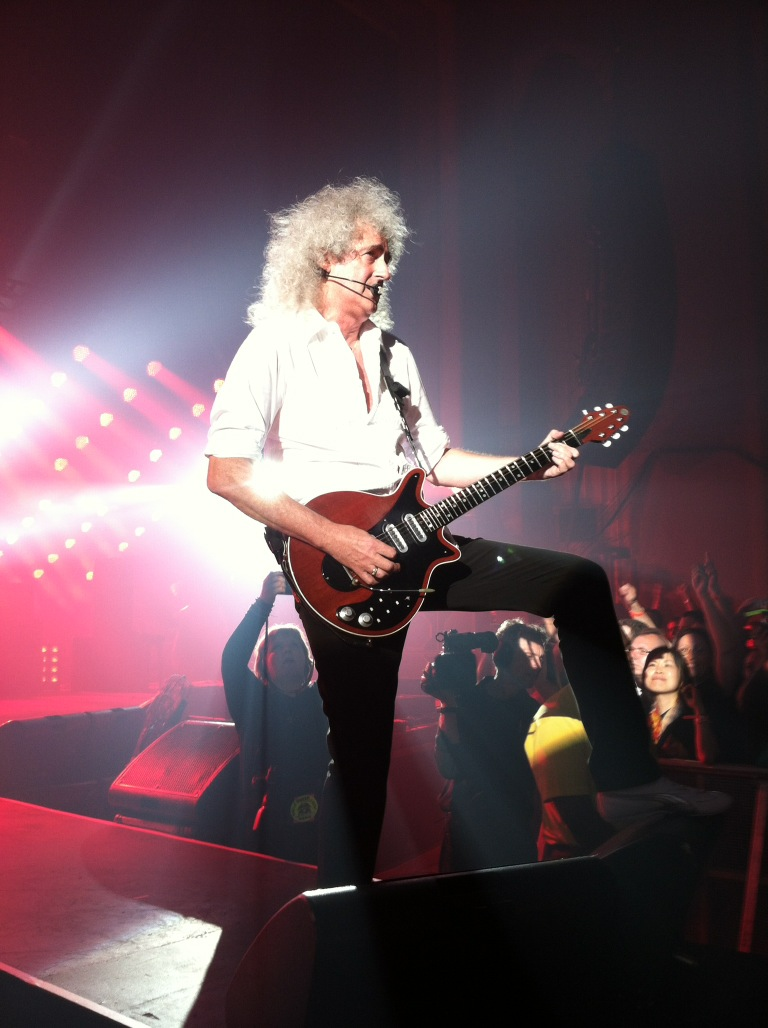 Brian May – Photo credit @SisterMerryMary