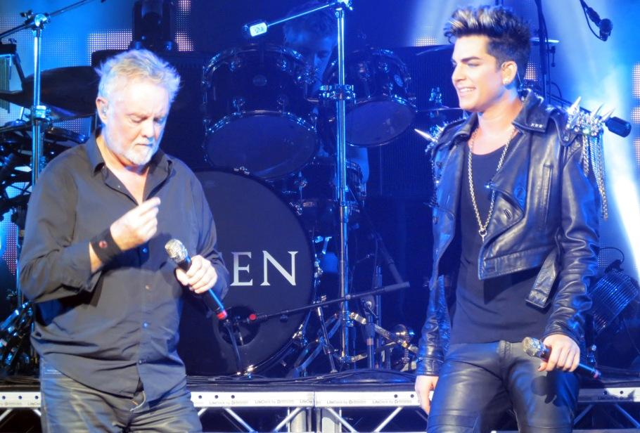 Roger Taylor & Adam Lambert – Photo credit @Cos2mwic