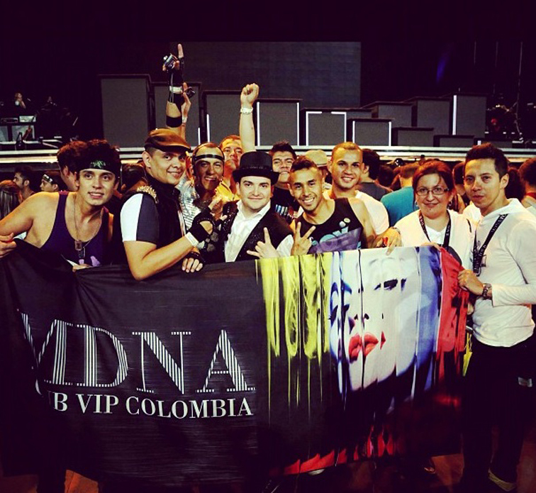 Fans at the show – Photo by Guy Oseary