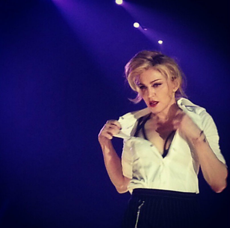 Ummm did I mention that Madonna stripped in front of me Life is complete ~ Jason Lopez