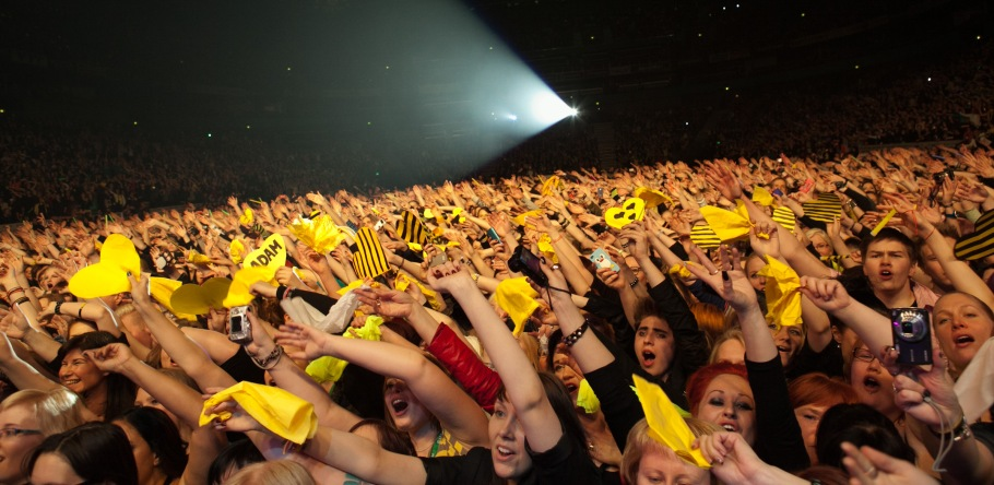 We Are Glamily Tour FINALE     Helsinki, Finland       THE CROWD