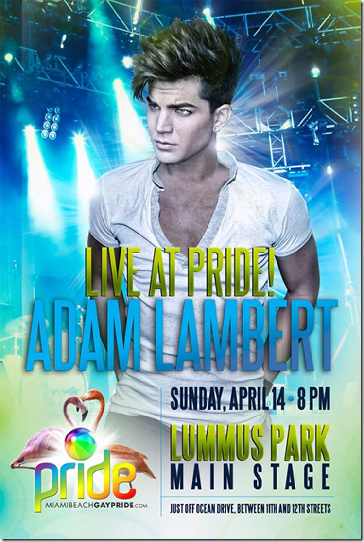 Miami Beach Gay Pride Poster