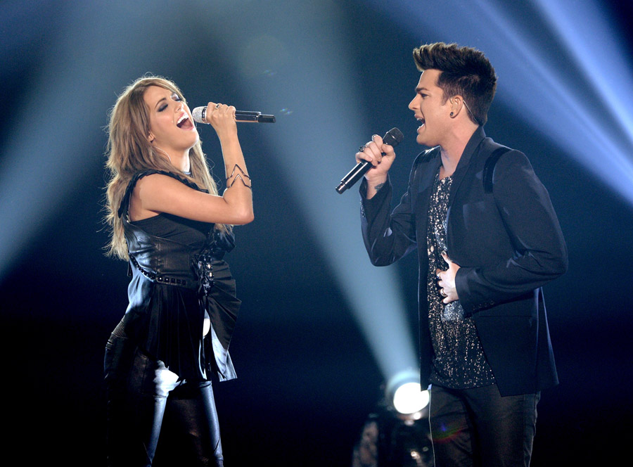 Adam Lambert and Angie Miller - AI12 Finale