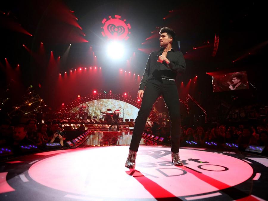 Queen & Adam Lambert at the 2013 iHeartRadio Music Festival