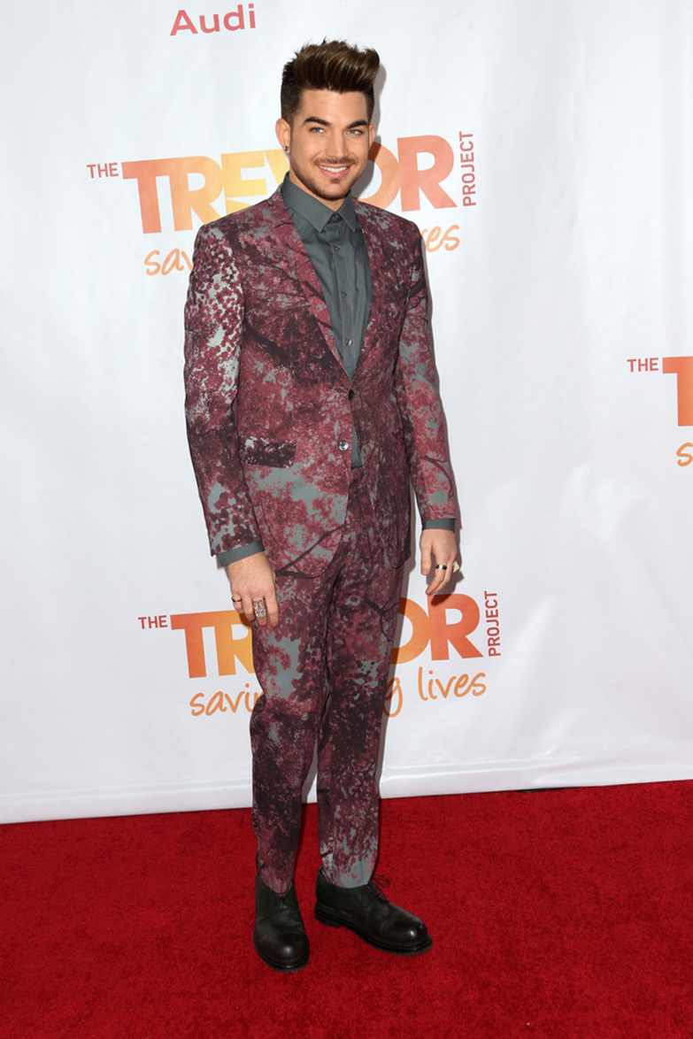 Adam Lambert On The Red Carpet - TrevorLIVE