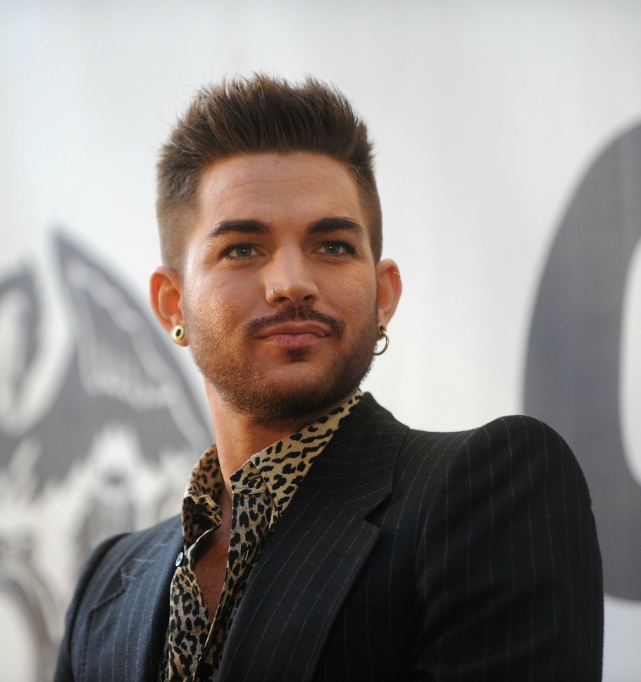 Adam Lambert at Press Conference Madison Square Garden
