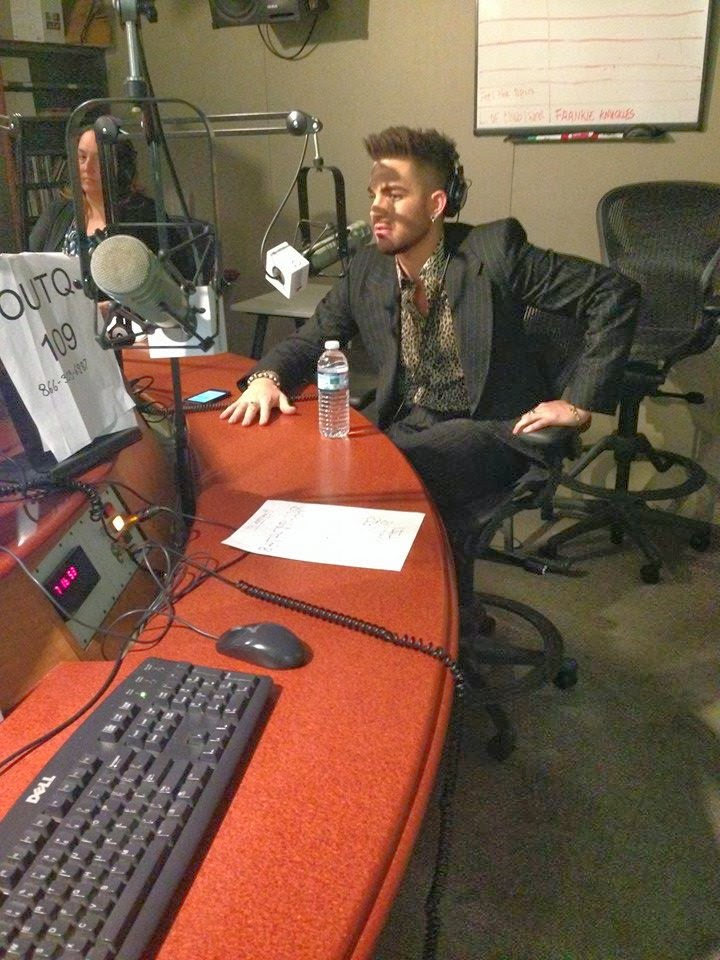 Dirty Pop Q109 Interview - Photo via Lance Bass