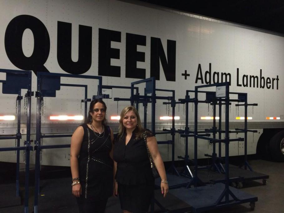 All-Access winners backstage @QueenWillRock + @adamlambert ~ @tdgarden