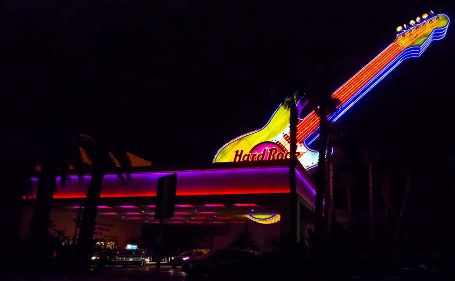 Hard Rock Hotel - Photo credit RockImitatesArt