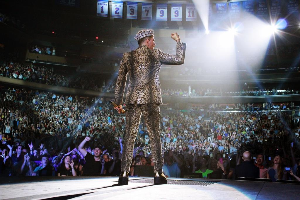 071714 Queen Adam Lambert in New York City NY at Madison