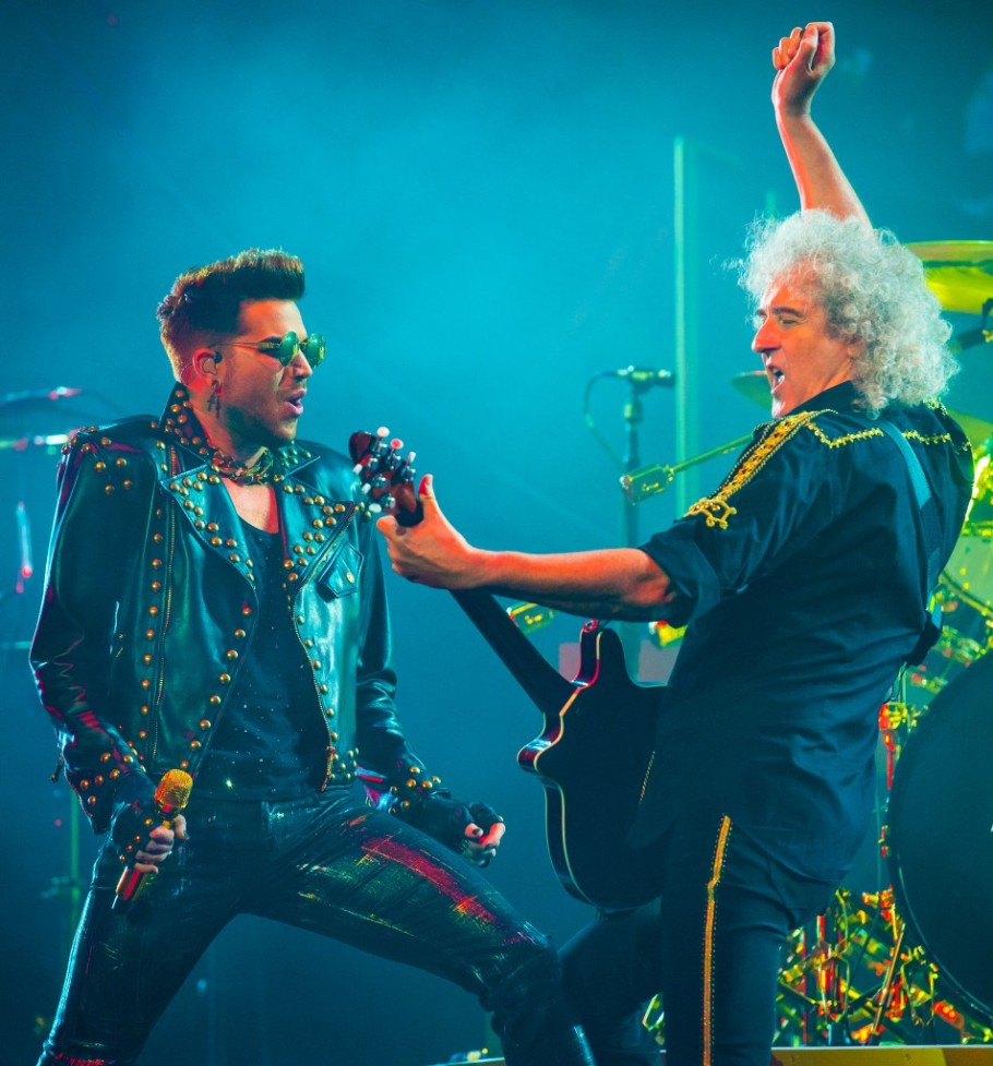 Queen with Adam Lambert In Concert - Auburn Hills, MI