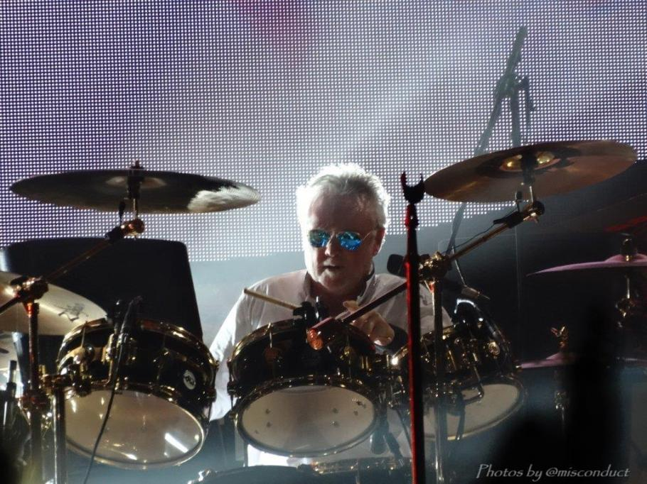 Queen + Adam Lambert, Drum Solo, Toronto, July 28:14 ~ @misconduct